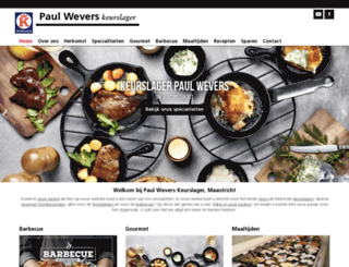 wevers.keurslager.nl screenshot