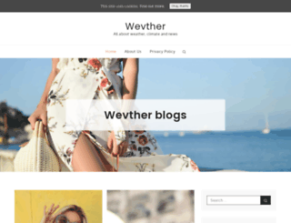 wevther.com screenshot