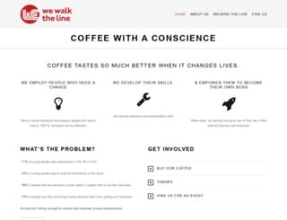 wewalktheline.org screenshot