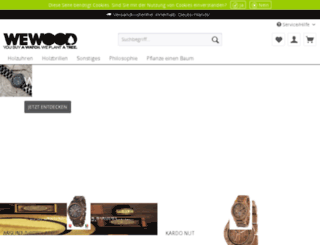 wewood-uhren.de screenshot