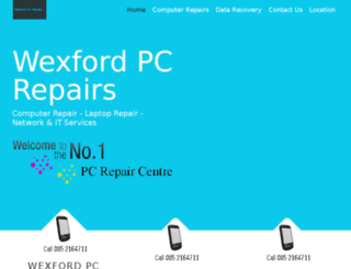 wexfordpcrepairs.com screenshot