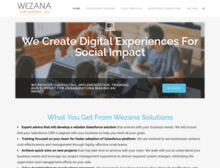 wezana.com screenshot