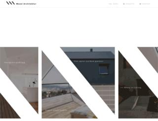 wezelarchitektur.de screenshot