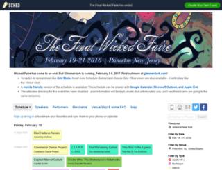 wf2016.sched.org screenshot