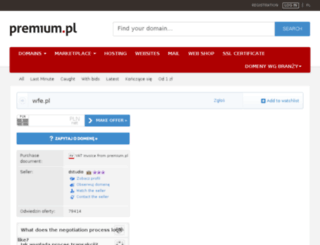 wfe.pl screenshot