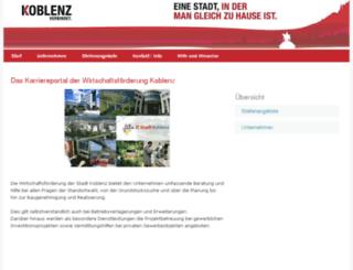 wfg-koblenz.alphajump.de screenshot