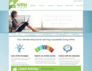wfh.com screenshot