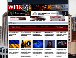 wfirnews.com screenshot