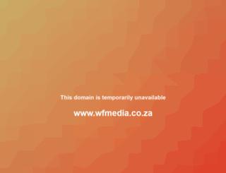 wfmedia.co.za screenshot