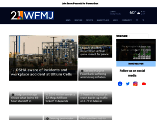 wfmj.com screenshot