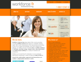 wfoutsourcing.com screenshot