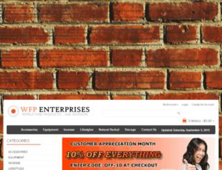 wfpenterprises.com screenshot