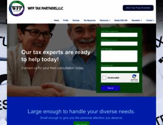 wfptaxpartners.com screenshot
