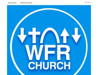 wfrchurch.sermon.net screenshot