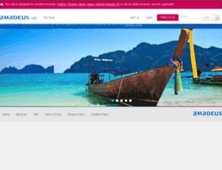 wftc2-wideroe.e-travel.com screenshot