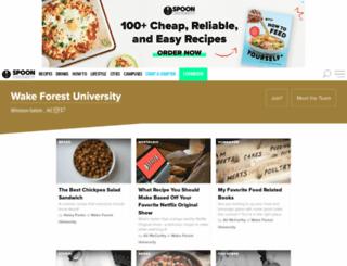 wfu.spoonuniversity.com screenshot
