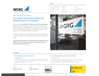 wgbg.de screenshot