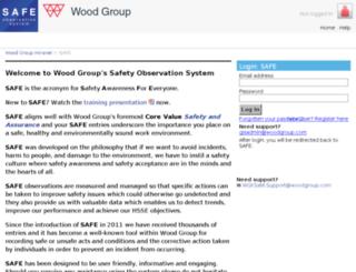wgksafe.woodgroup.com screenshot