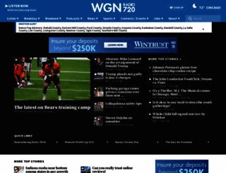 wgnradio.com screenshot
