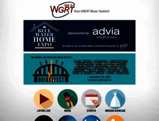 wgrt.com screenshot