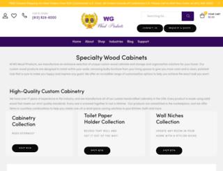 wgwoodproducts.com screenshot