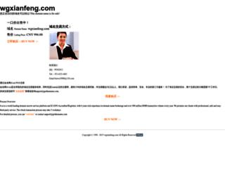 wgxianfeng.com screenshot