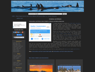 whale-images.com screenshot