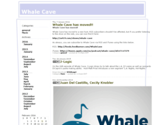 whalecave.libsyn.com screenshot