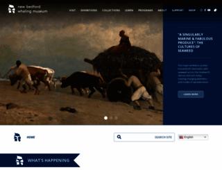 whalingmuseum.org screenshot