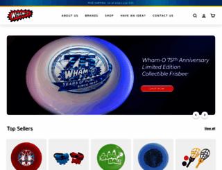 wham-o.com screenshot