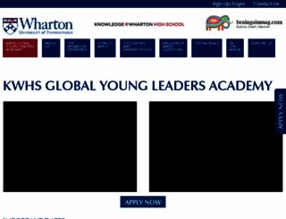 wharton.braingainmag.com screenshot