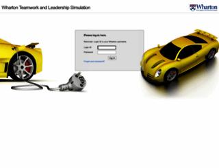 wharton1.forio.com screenshot