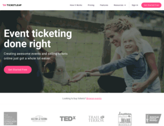 whartonsf.ticketleap.com screenshot