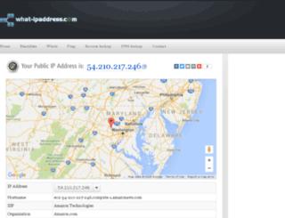 what-ipaddress.com screenshot