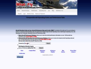 what2fly.com screenshot