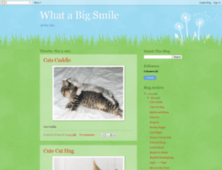 whatabigsmile.blogspot.com screenshot