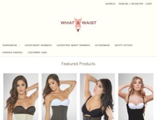 whatawaist.com screenshot