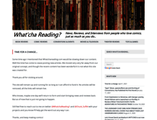 whatchareading.com screenshot