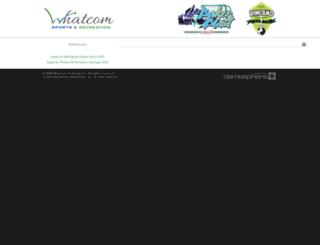 whatcomsoccer.demosphere.com screenshot