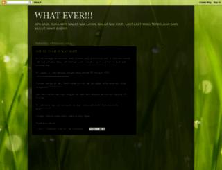 whateverpunboleh.blogspot.com screenshot