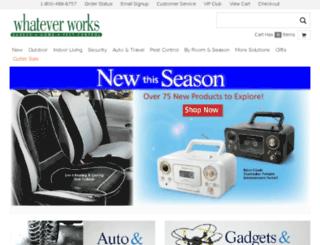 whateverworks.com screenshot