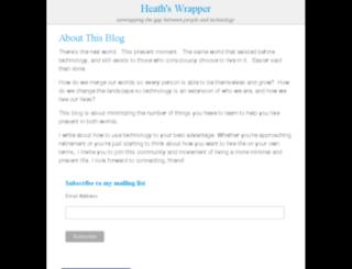 whatilearnedlastsunday.com screenshot