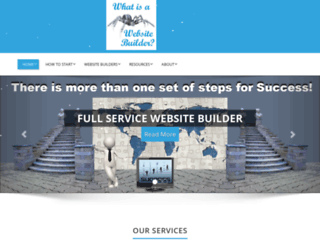 whatisawebsitebuilder.com screenshot