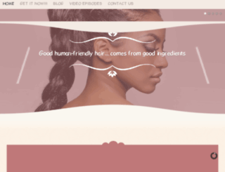 whatisgoodhair.com screenshot