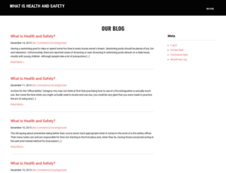 whatishealthandsafety.co.uk screenshot