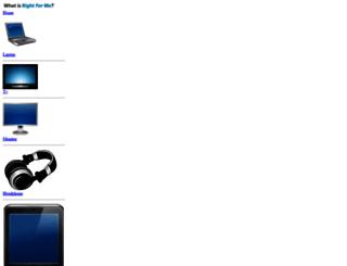 whatisrightforme.com screenshot