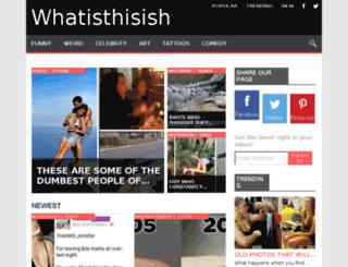 whatisthisish.com screenshot