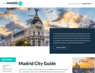 whatmadrid.com screenshot
