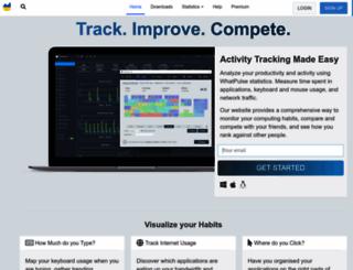 whatpulse.org screenshot