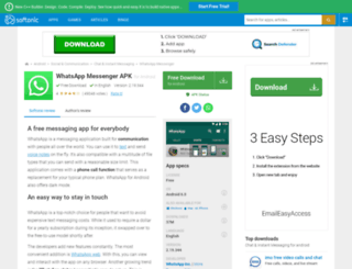 whatsapp-messenger.en.softonic.com screenshot